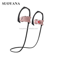 High-end wireless Sport Bluetooth Earphone mp3 Player stereo Headsets Devices Portable Bluetooth phone 6 earbuds