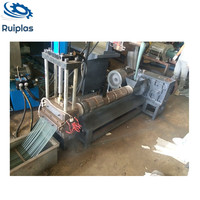 pp pe waste plastic pyrolysis recycling extruder machine