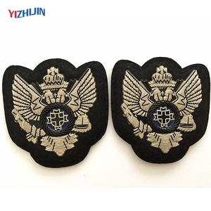 Customized High Quality HF PVC Cap Badge for Uniform