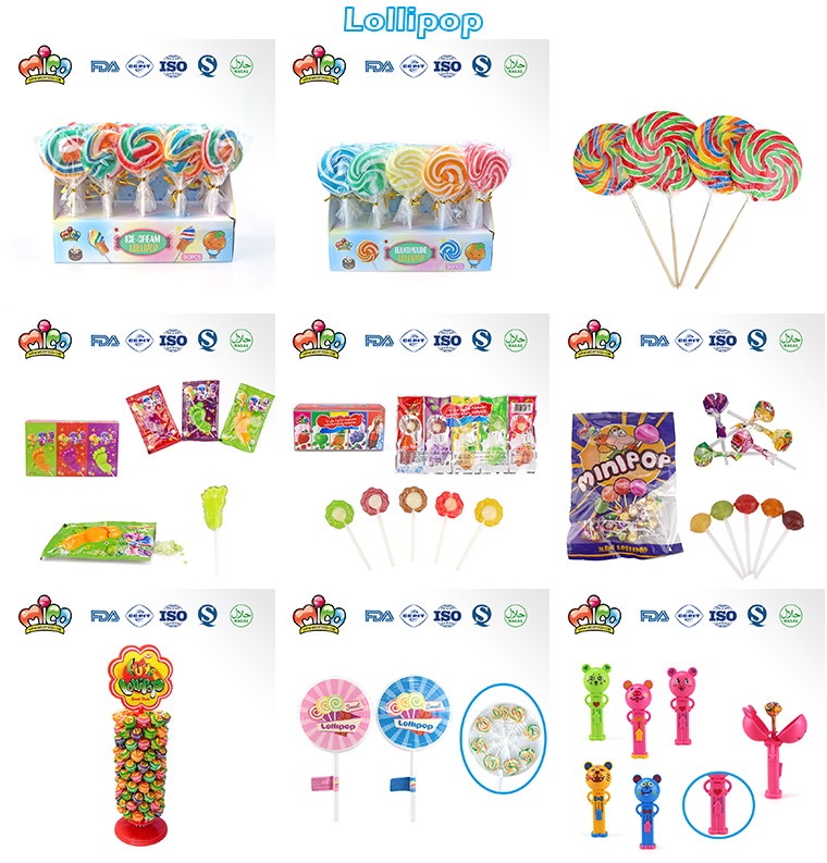 Sweet Colorful Flower Shape Lollipop Candy(5 colors)