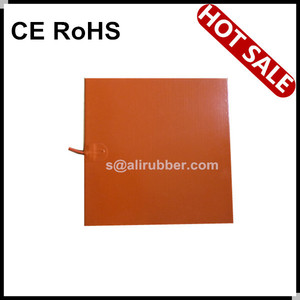 Silicone Heater 3D Printer Heater Bed, Better Replacement of Reprap PCB Heater Heatbed, 400x400MM 24V