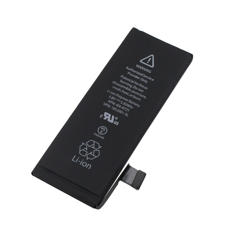 the cell phone battery for iphone Repair service parts for iphone 5S battery replacement Li-ion Polymer battery