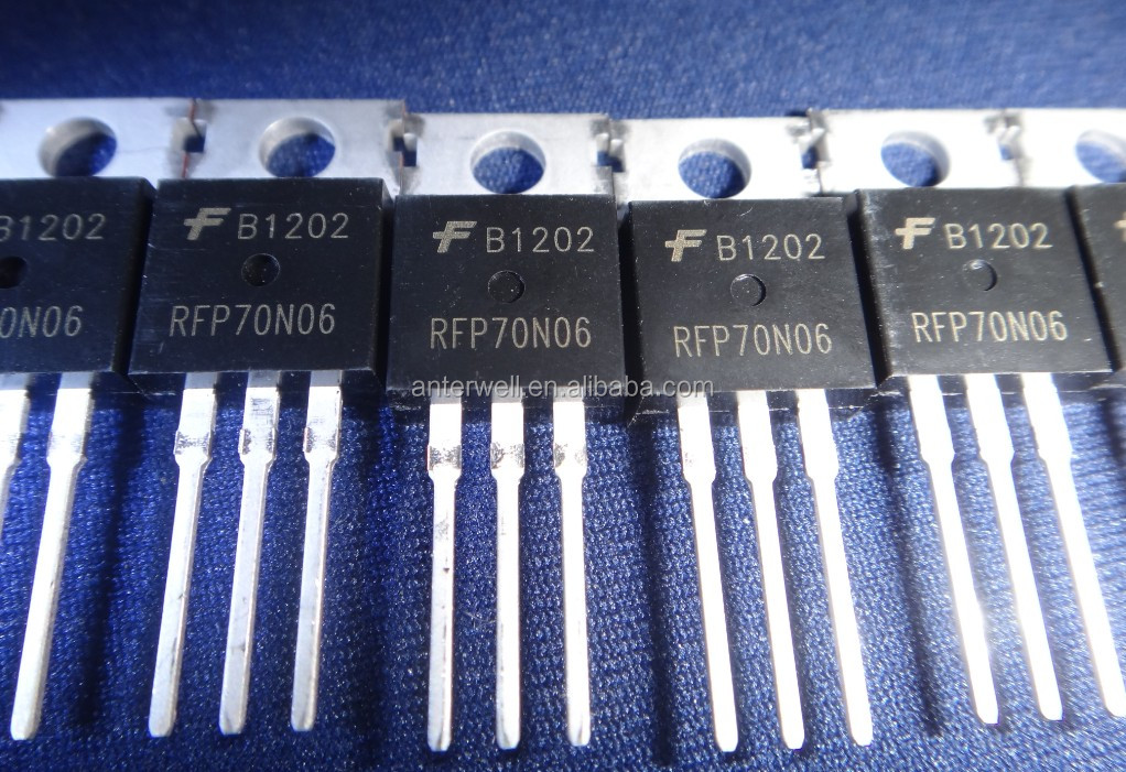 New&Original RFP70N06 70A, 60V, Avalanche Rated, N-Channel Enhancement-Mode Power MOSFETs