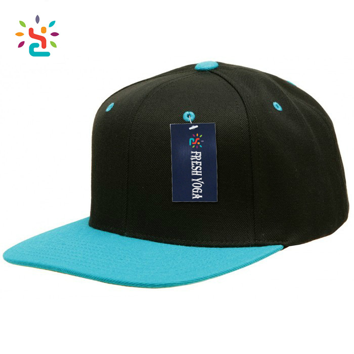 Custom China Blank Snapback Yupoong Hats Bulk Snapback Caps Wholesale Two Tone Hat For Advertising Manufacturer