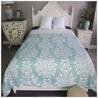 TOP SALE simple design bedding quilt patterns in many colors