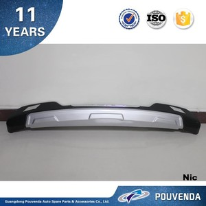 ABS Rear bumper For Toyota RAV4 RAV 4 2013+ Bumper guard plate Auto accessories from pouvend
