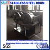 leather tanneries in China D600 by 300 stainles ssteel comparing sample drum/leather machine made in China