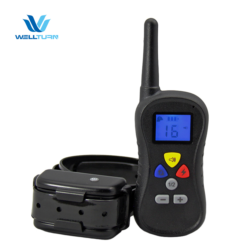 Sound controlled vibrator stop electronic barking dog alarm whistle PTS-018