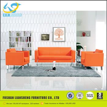 Orange Modern Cheap Leather Office Royal Sofa Set Designs - Buy Office Sofa  Design,Royal Sofa Set Designs,Cheap Leather Sofa Set Product on ...
