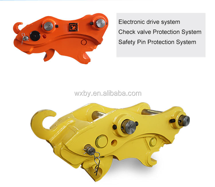 Excavator Attachment Mini Hydraulic Quick Hitch of good quality