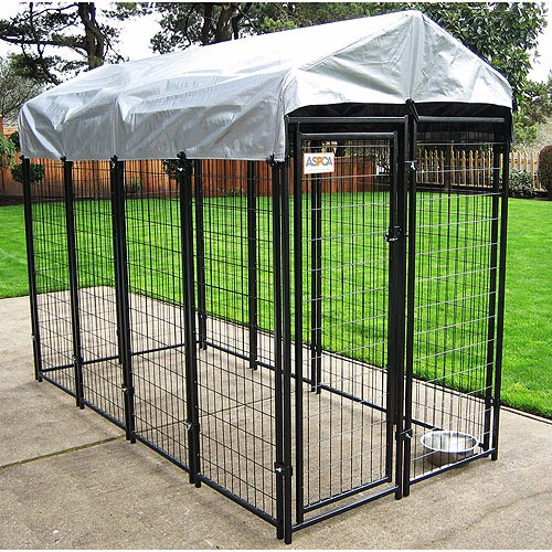 Cheap large fancy dog run kennels buy cheap dog kennels for Cheap dog pens for outside