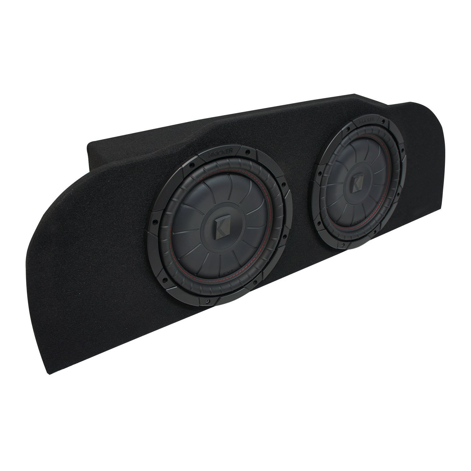 "2003-2015 Infiniti G35 Coupe Kicker CompVT CVT10 Subwoofer Dual 10"" Sub Box Enclosure - Final 2 Ohm"