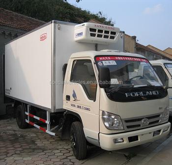 Foton 42 Diesel Meat Transport Refrigerated Truck Food Refrigerator Freezer Refrigeration For