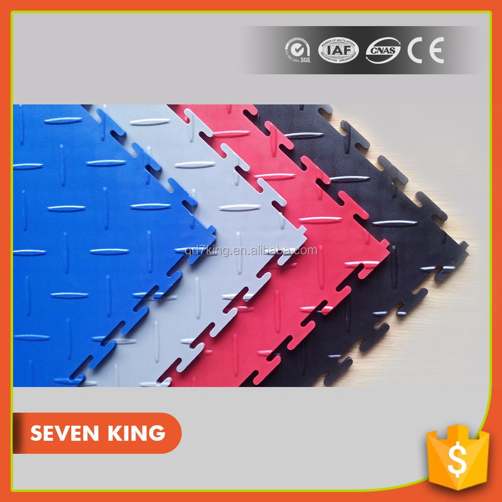 pvc azulejo de piso de para garaje