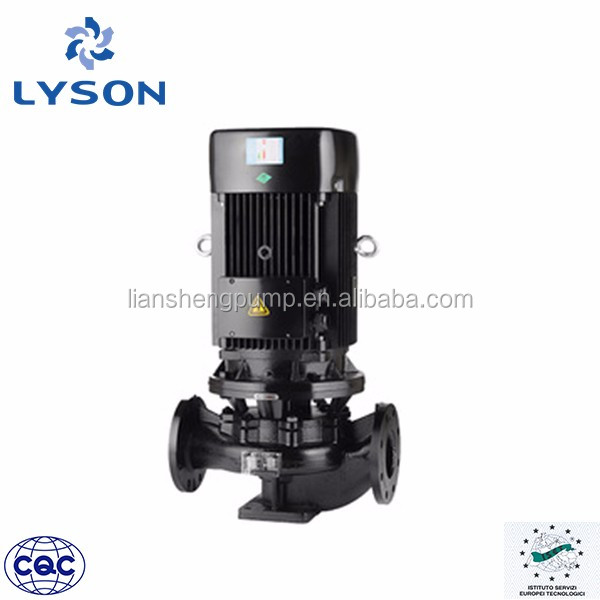 high efficiency Single-Stage Single-Suction small inline hot water booster pump