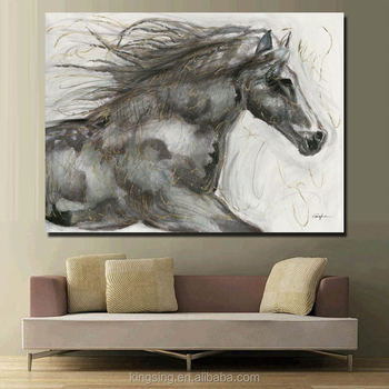 f12ef9dbe2d8 Home Decor Custom Modern Canvas Oil Wall Picture abstract animal House  Painting