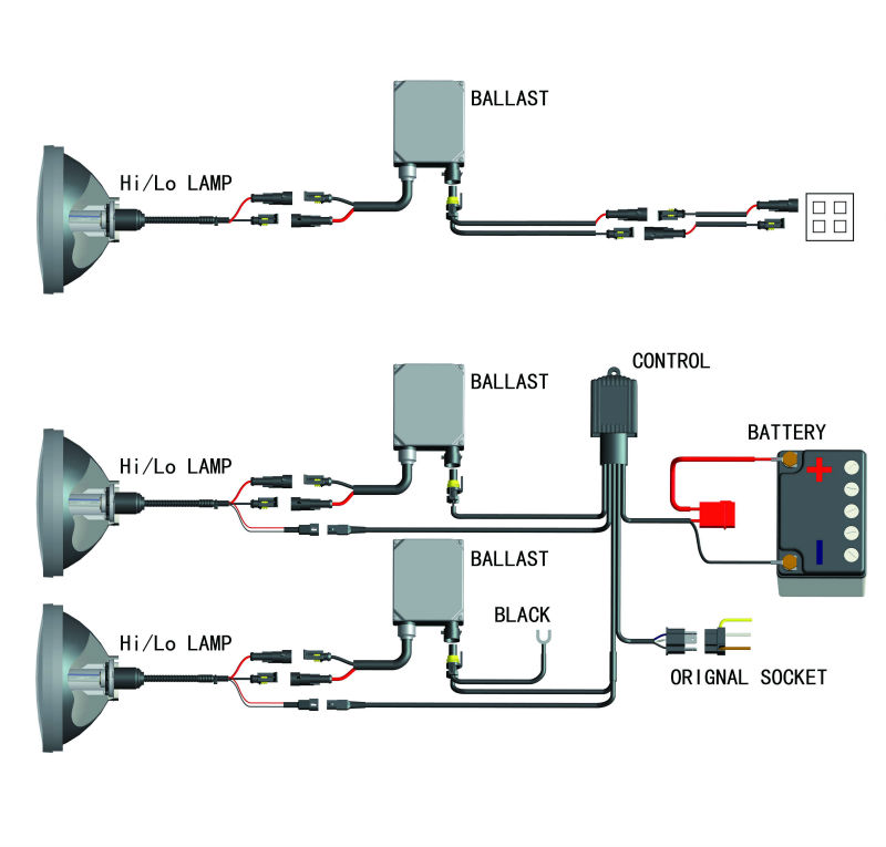 on h4 hid installation wiring diagram