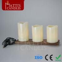 LED rechargeable candles light with remote control