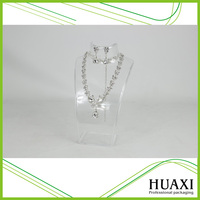 Guangzhou Supplier Acrylic Jewelry Stand Necklace Acrylic Display Stand