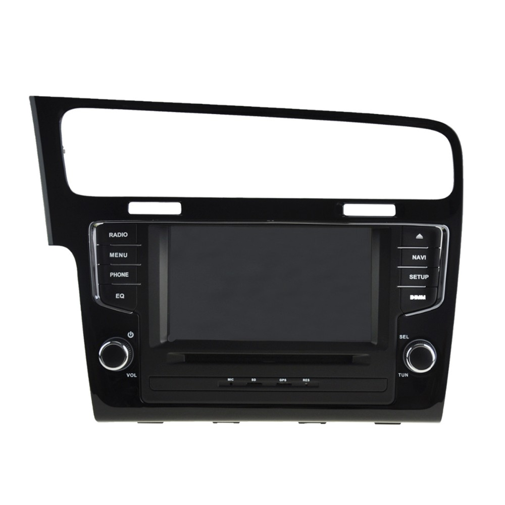 Pure android 5.1 for VW Golf 7 2013 car dvd player GPS with HD1024*600/Mirror link