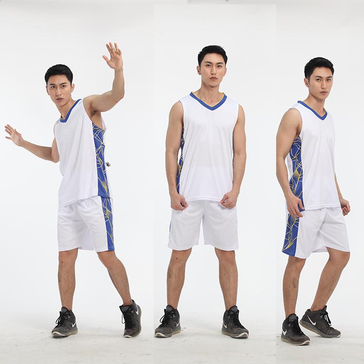 Guangzhou Produsen Model Baru Sublimasi Basket Seragam Kustom Basket Jersey