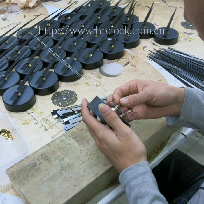 New Design Beautiful Packing Diy Wall Clock Movement With Hands