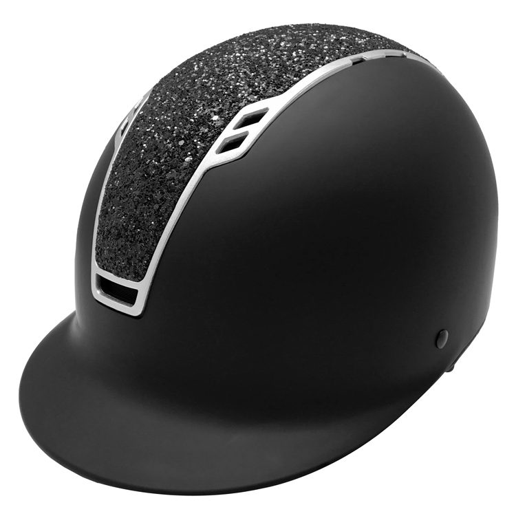 Luxury-Equestrian-Helmet-Cover-And-Riding-Helmet