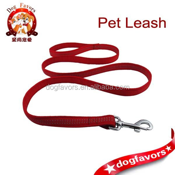 Dog Favors Super Heavy Duty Nylon Dog Leash, Strong Dog Leads with Reflective Threads. Safety Dog Leashes