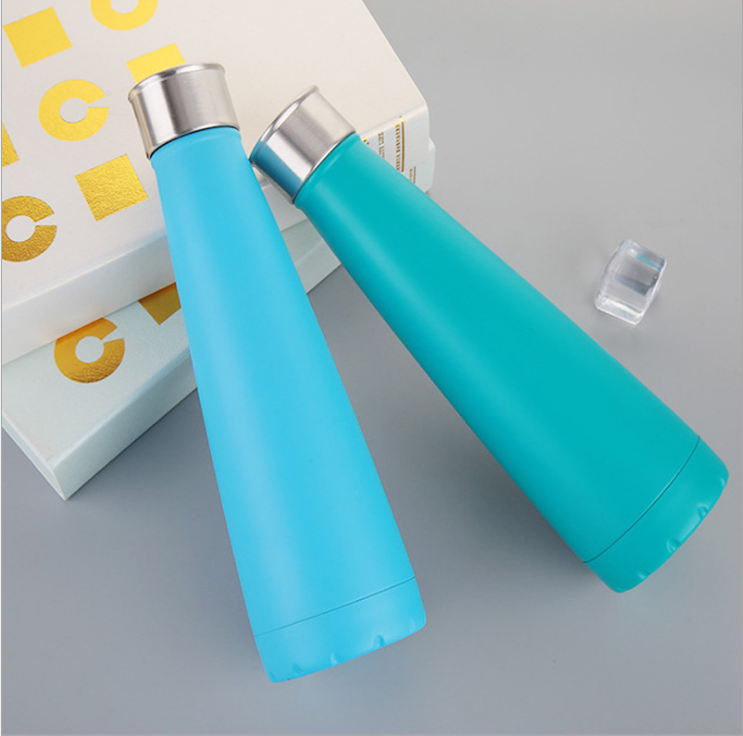 18oz with Label New Shape Vacuum Insulated Stainless Steel Warer Bottle Hydro Flask