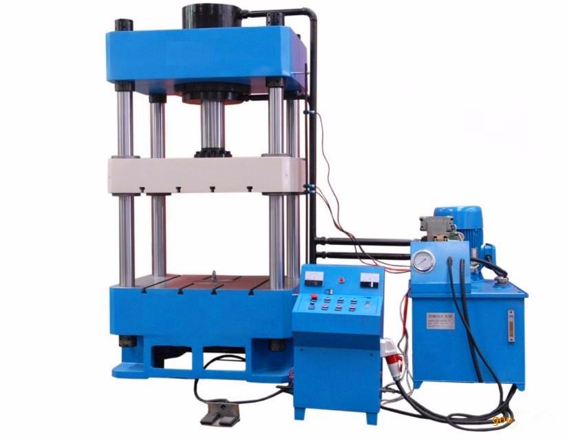 Homemade Hydraulic Pump >> Stainless Steel Container Box Making Machine Hydraulic Press Four-column Hydraulic Press - Buy ...