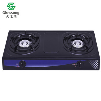 High quality 2 burner double burner kerosene table top gas stove