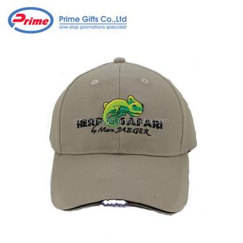Custom Made Denim Led Baseball Cap With Light In Brim - Buy ... a893ef0e9502