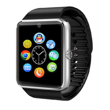 font b Smart b font Watch GT08 Clock Sync Notifier With Sim Card Bluetooth Connectivity