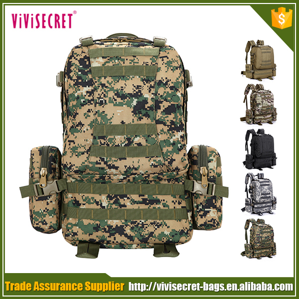 China suppliers men camouflage series army bagpack 3d military tactical utility assault backpack wholesale