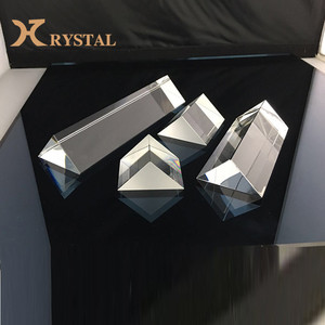 Best Gift Light Experiment Clear Triangle Crystal Prism For Sale