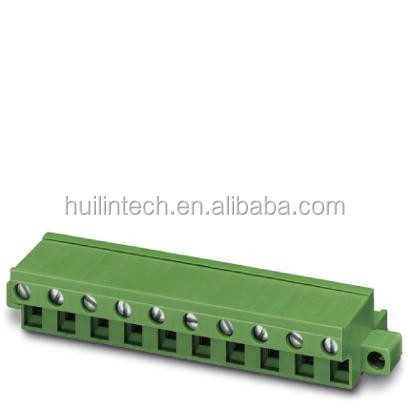7.62mm pitch female plug terminal block the front screw connection