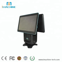 all in one POS Terminal with Windows Android Linux OS 14 Screen 80mm Thermal Printer Scan Camera