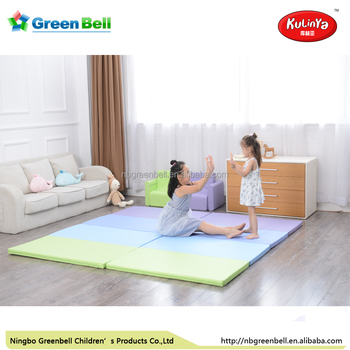 Sgs Testing Pu Kids Play Folding Mat