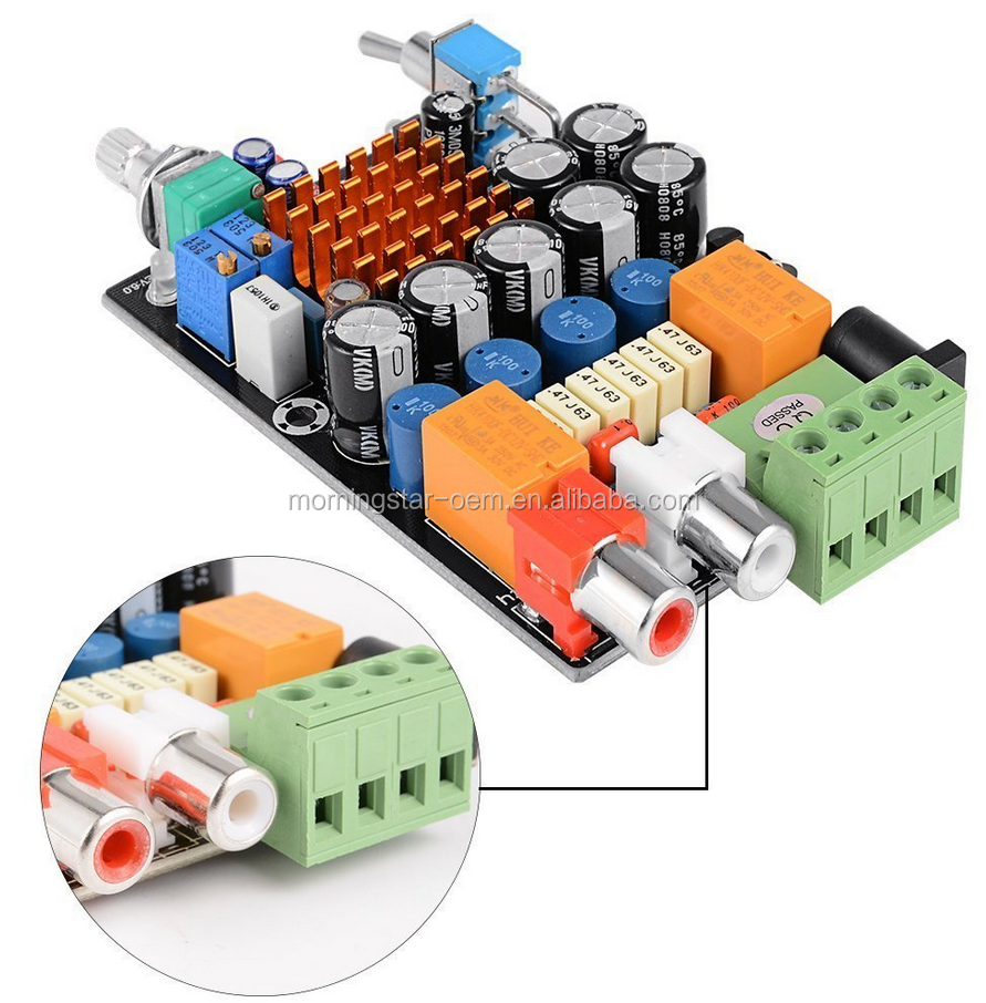 Computer Amplifier Circuit Wholesale Circuits Suppliers Board Using La4508 Alibaba