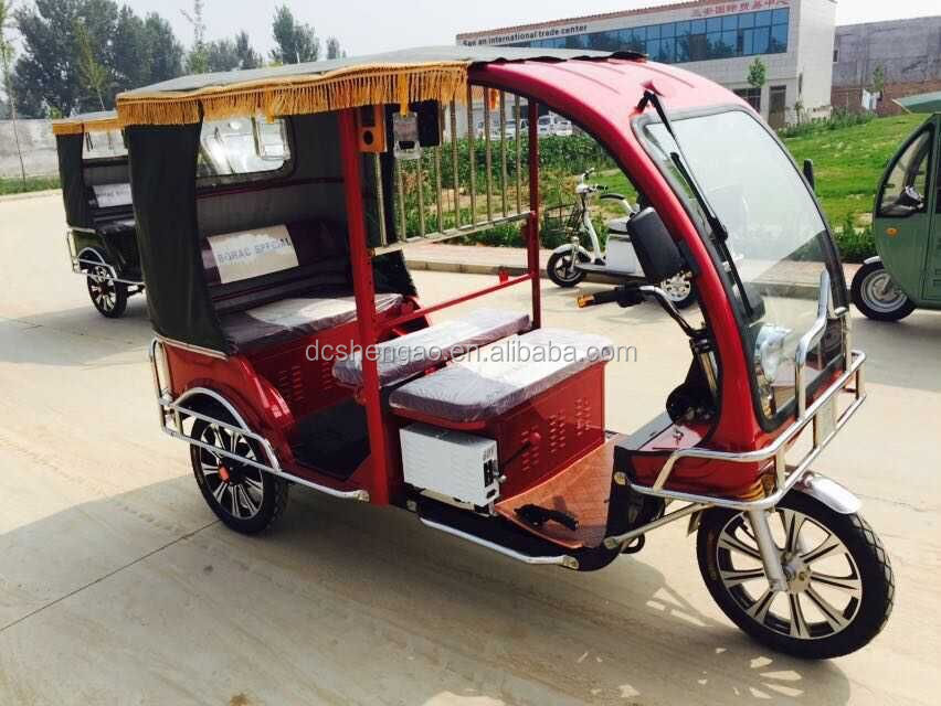 New Model Lower Price Bangladesh Auto Rickshaw Made In China