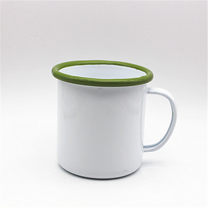 Best sellers new enamel coated coffee mugs and cups&Chinese enamelware wholesale