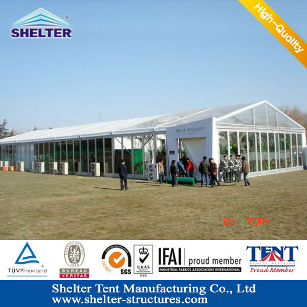 High-Class Marquee Tent Productions For Outdoor Festival Event