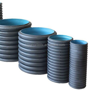 high quality hdpe large diameter plastic corrugated hose for sewage