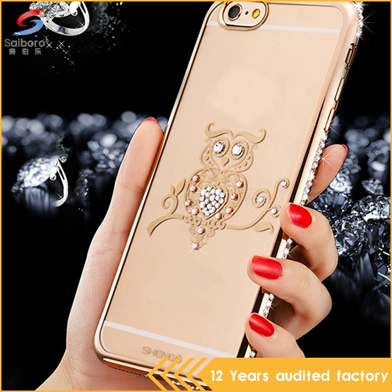 Wholesales creative diamond tpu fancy for iphone covers