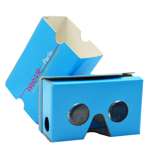 2019 3d video Glasses Virtual Reality vr Cardboard 2 VR 3D Glasses 2.0 Virtual Reality VR Cardboard Box 3D Glasses