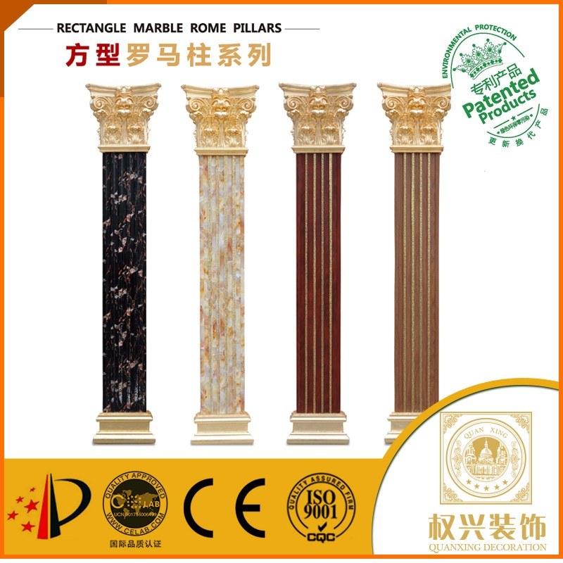 marble column hollow roman column price for building materials