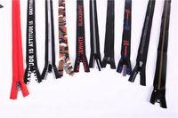 7# Good offer different types environmental long chain waterproof zipper roll