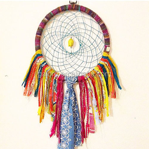 handmade chinese colorful party dream catcher