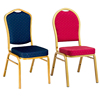 Manufacturer Metal Fabric Stacking Hotel Dining Banquet chair Wholesale