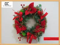 Advent wreath seasonal decoration